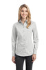 Port Authority® Ladies Stretch Poplin Shirt. L646