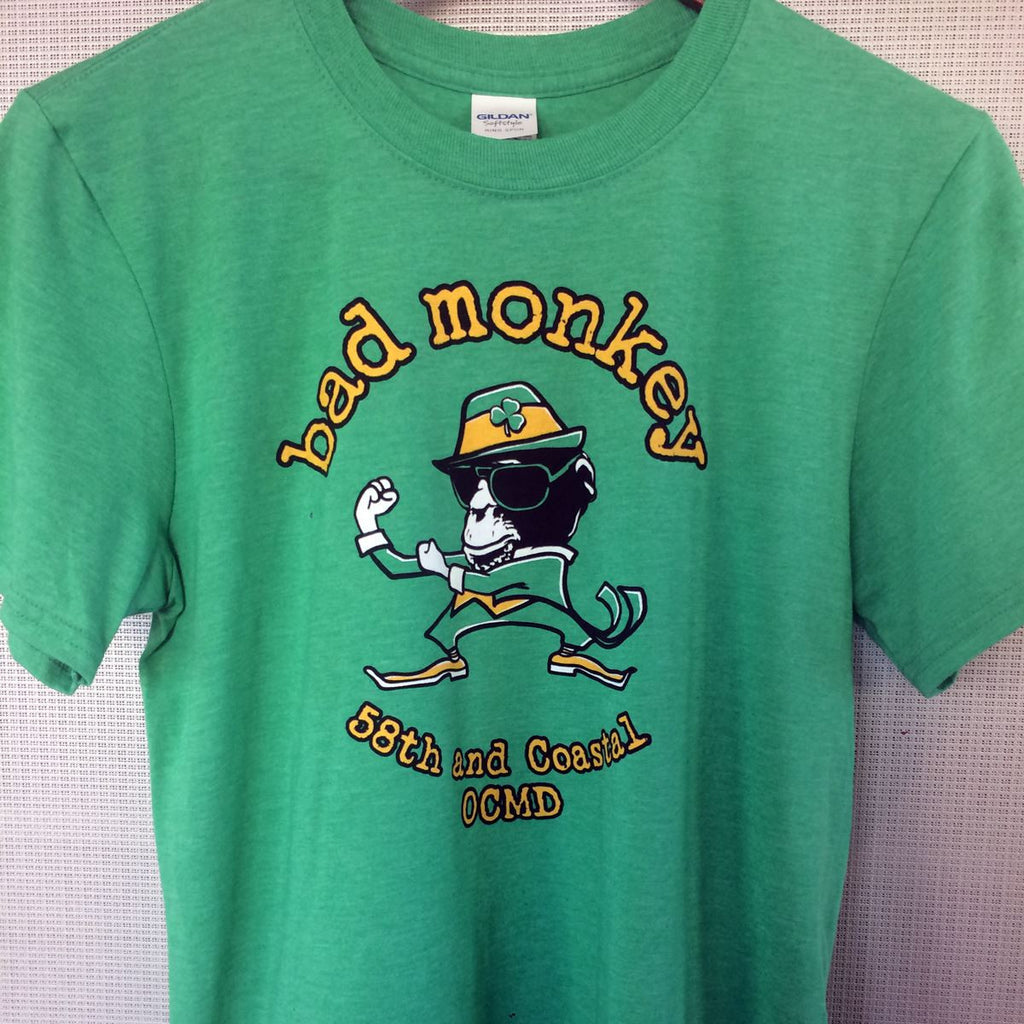 Fighting Monkey Short Sleeve T-Shirt