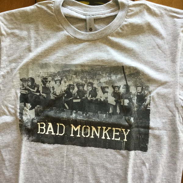 Monkeys at Lunch Short Sleeve T-Shirt