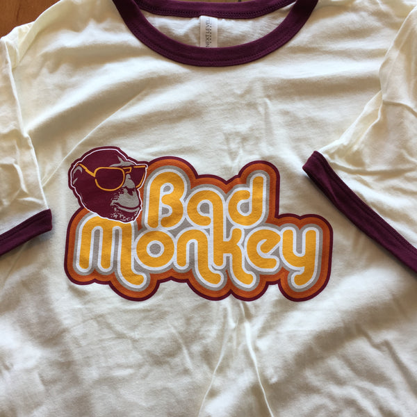 JB Monkey Short Sleeve Ringer T-Shirt