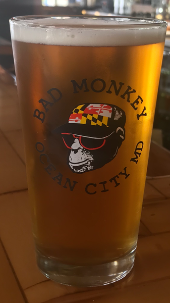 MD Trucker Pint Glass