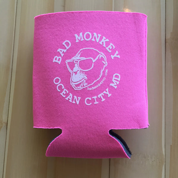 Bad Monkey Ocean City Koozie