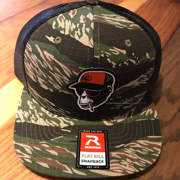 Smokin Monkey Camo Hat