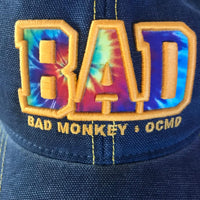 Bad Monkey Tie Dye Trucker Hat