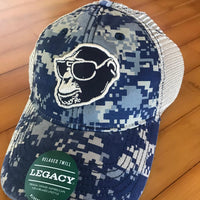 Digi Camo Monkey Head Hat
