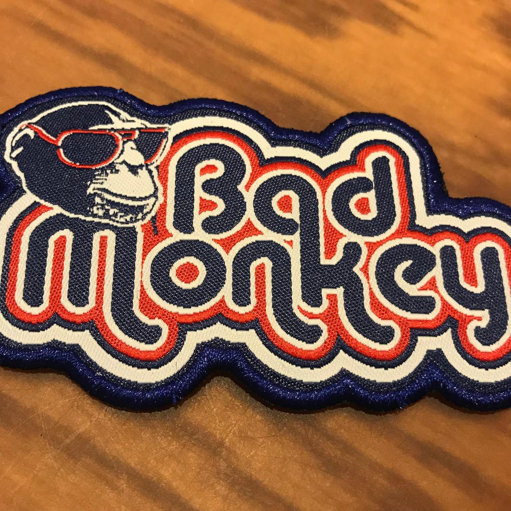 JB  Monkey Embroidered Patch