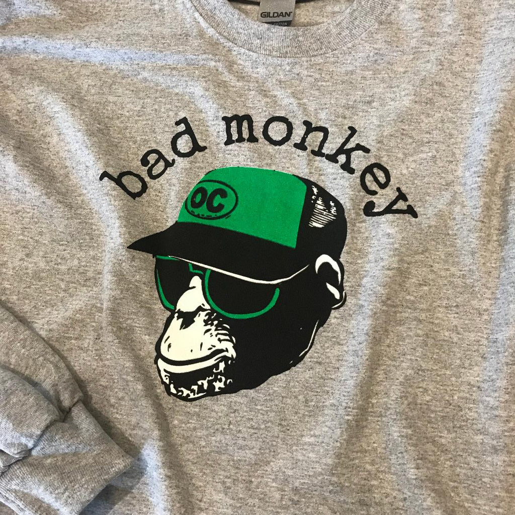 Trucker Monkey Long Sleeve Tee