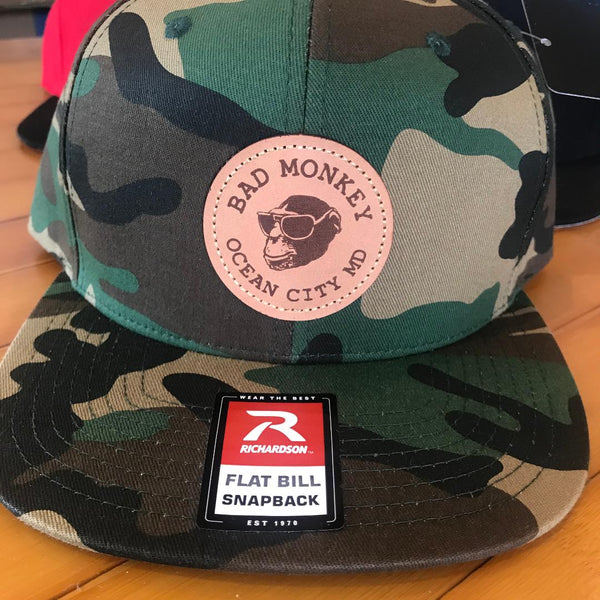 Bad MonkeyLeather Patch Hat