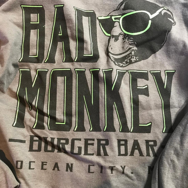 Bad Monkey Burger Bar Long Sleeve T-Shirt