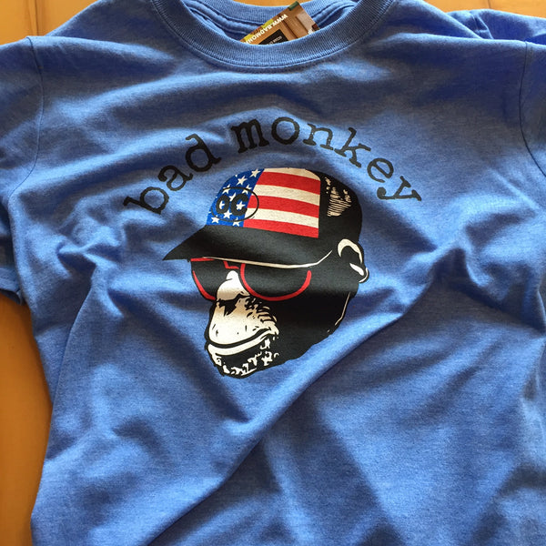 USA Trucker Monkey (No Smoke) Short Sleeve T-Shirt