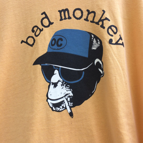Trucker Monkey (Smoking) Garment Dyed Short Sleeve T-Shirt