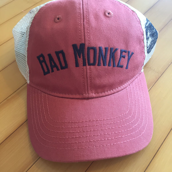 Bad Monkey Arch Logo Relaxed Twill Cap