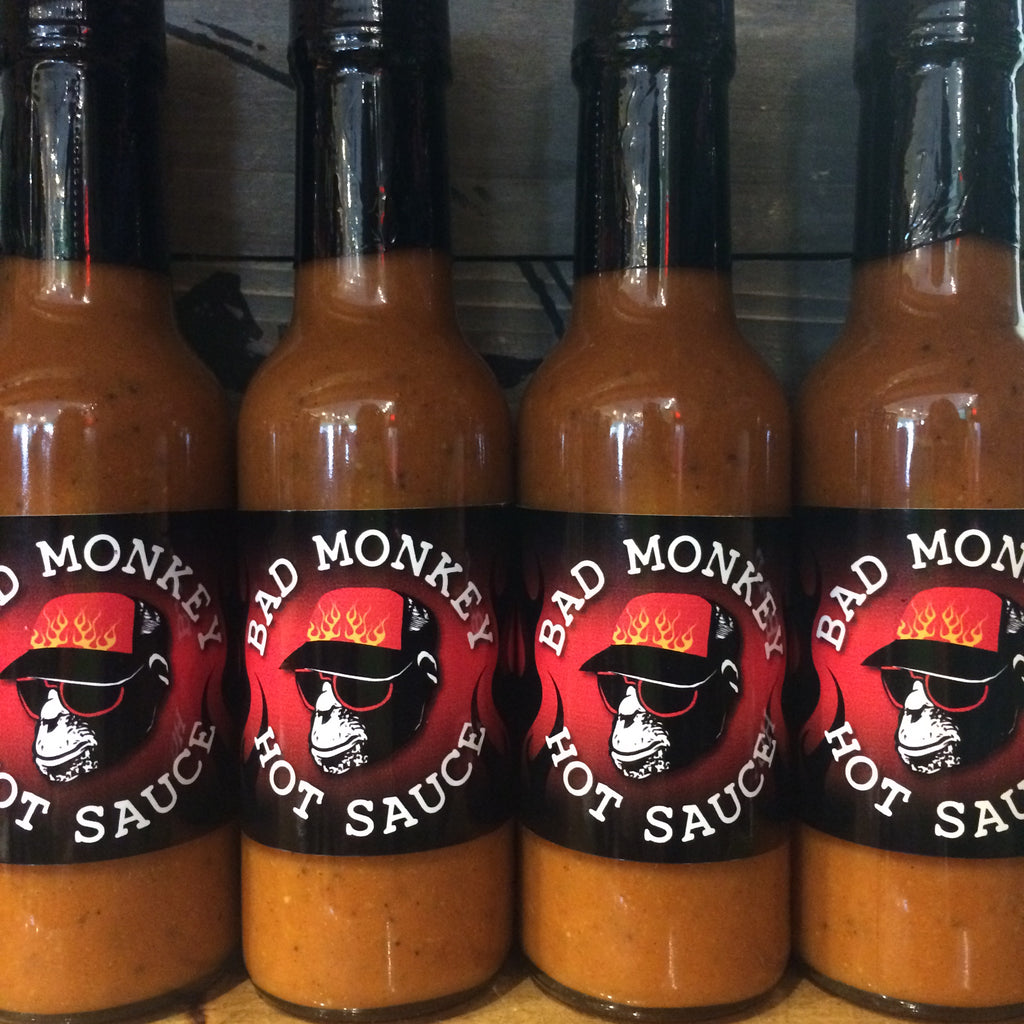 Bad Monkey Hot Sauce