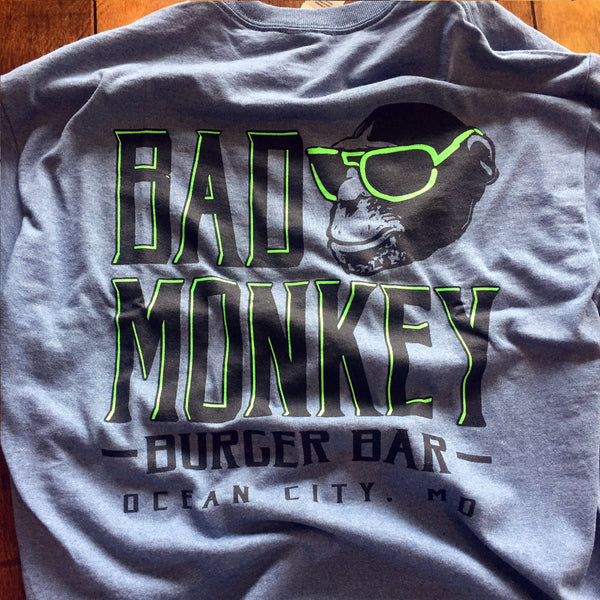 Bad Monkey Burger Bar Short Sleeve T-Shirt
