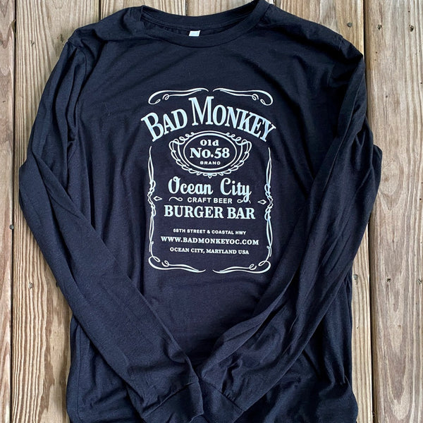 Jack Monkey Long Sleeve T-Shirt