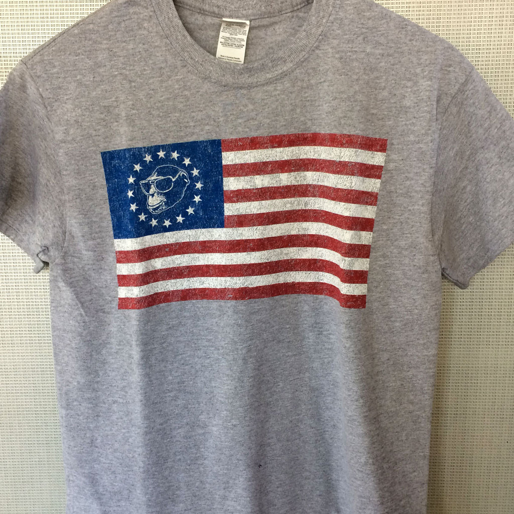 Monkey Flag Short Sleeve T-Shirt