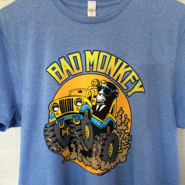 Off-Road Monkey Kid's Short Sleeve T-Shirt