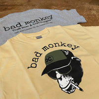Trucker Monkey (Smoking) Short Sleeve T-Shirt