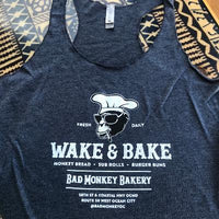 Bad Monkey Ladies Wake & Bake Tank Top