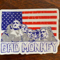 Rushmonkey Sticker