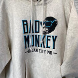 oatmeal heather bad monkey hoodie