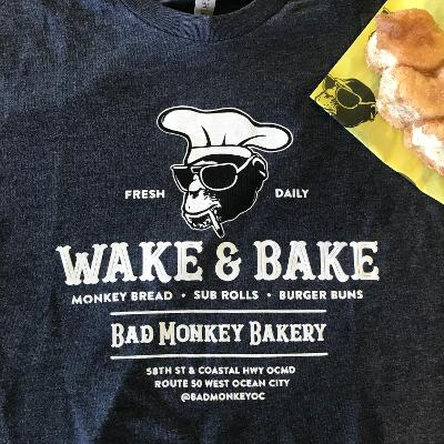 Bad Monkey Wake & Bake Short Sleeve T-Shirt