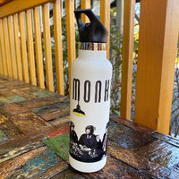 Poker Monkey Flip Top Water Bottle