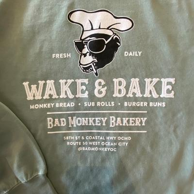 Wake & Bake Crew Sweatshirt