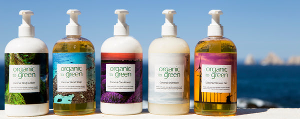 Organic to Green Luxury Hotel Refillable Amenities
