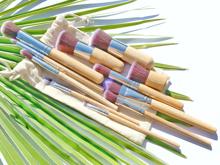 Soft and Gentle Vegan + Cruelty-Free Makeup Brushes - 12 Piece Kit