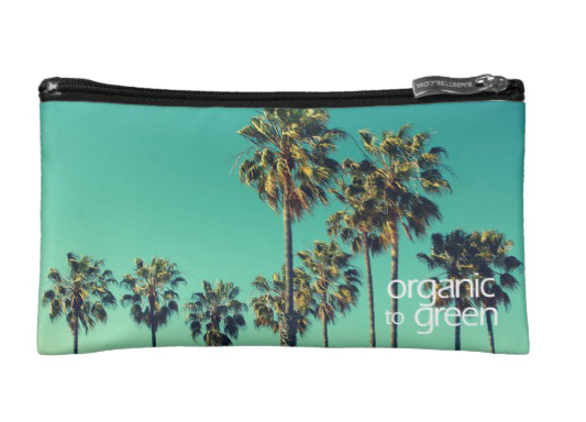 Santa Monica Palms - Small Cosmetic Bag