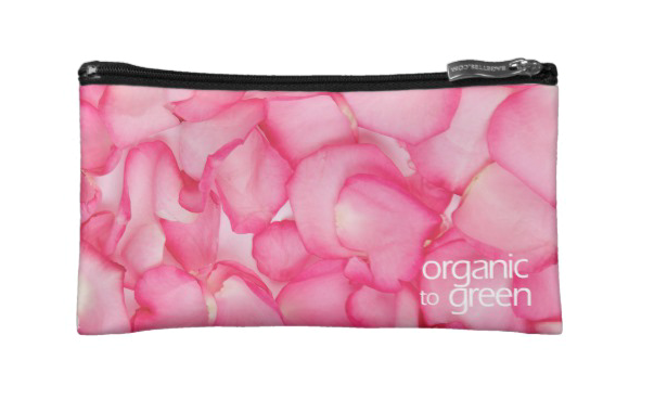 Pink Rose - Small Cosmetic Bag