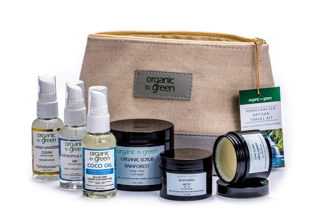 Organic Travel Kit Deluxe