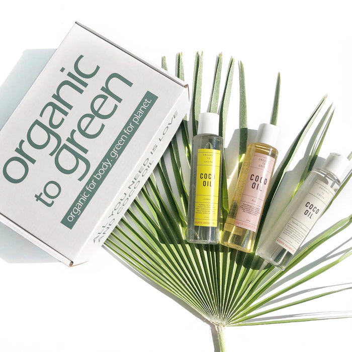 Liquid Coco Oil Trio Gift Set - Limited Time BOGO!