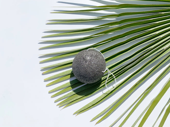 Konjac Face Exfoliating Sponge - Charcoal