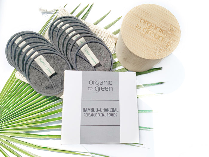 Bamboo-Charcoal Reusable Facial Rounds