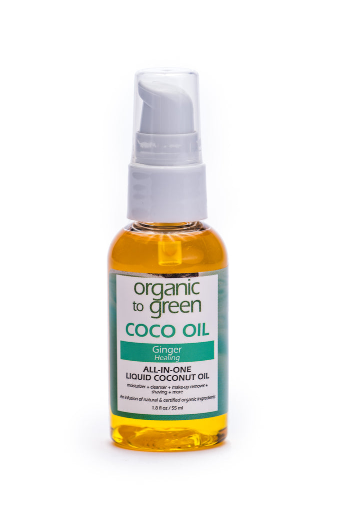 Liquid Coconut Oil Ginger - Healing Coco Oil