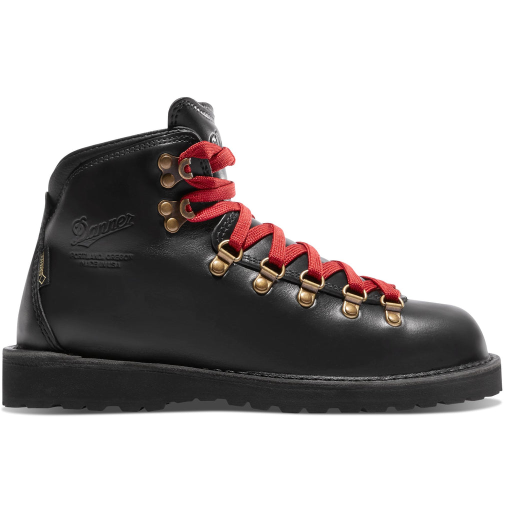 Danner Women's Mountain Pass Boot, Black | Hiking Boots | Portland Dry Goods