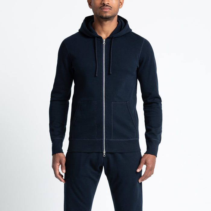Reigning Champ Lightweight Terry Full Zip (+colors), Red