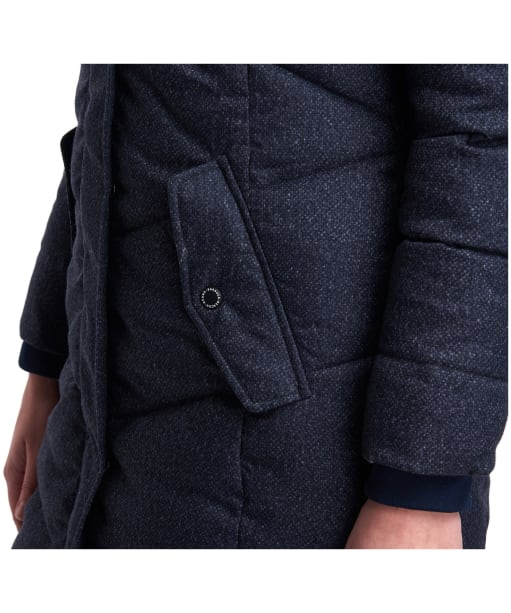Barbour Sternway Quilted Jacket, Navy Marl