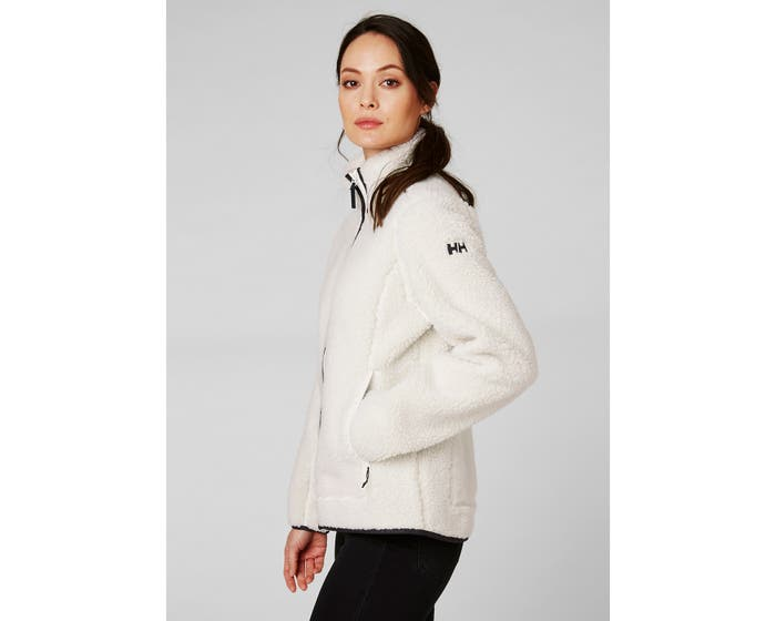 Helly Hansen W Sundown Pile Jacket , Off White