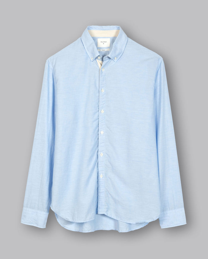 Billy Reid Irvine Twill Tape Shirt (+colors), Blue