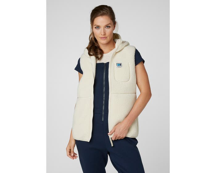 Helly Hansen HH Pile Vest, Cream