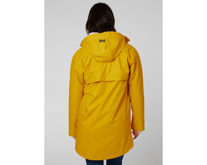 Helly Hansen W Moss Ins Coat , Essential Yellow