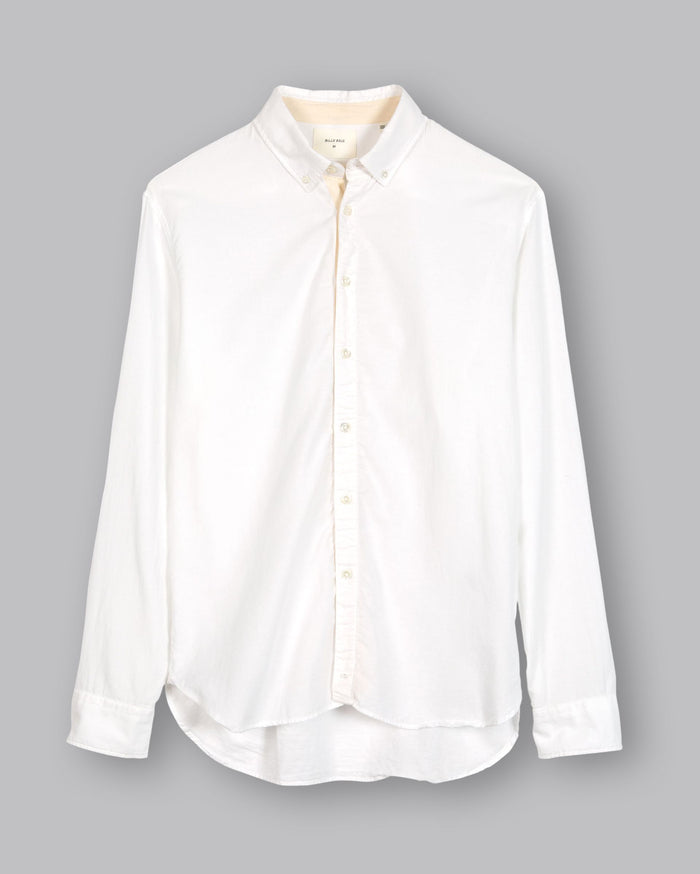 Billy Reid Irvine Twill Tape Shirt (+colors), White