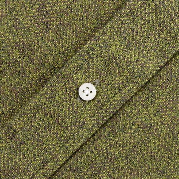 Gitman Cotton Tweed Shirt, Olive