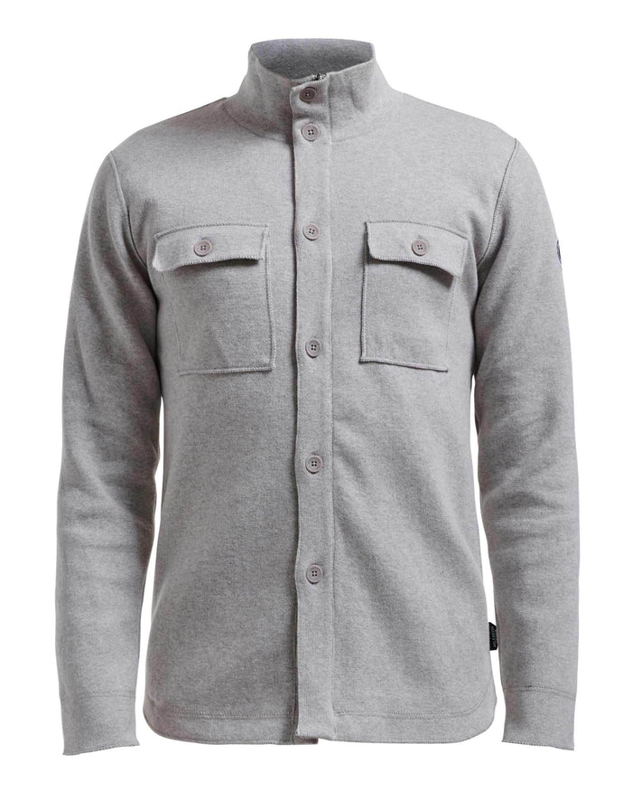Holebrook Edwin Shirt Jacket, Light Grey