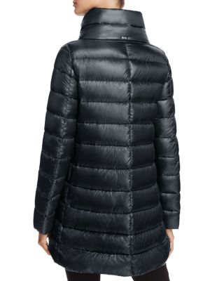 Herno Classic Funnelneck Puffer Jacket, Black