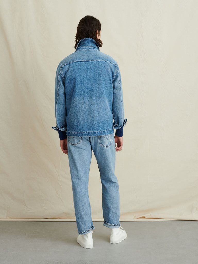 Alex Mill Work Jacket, Vintage Wash Denim