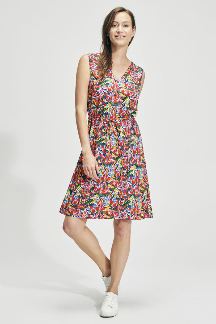 Armor-Lux Sleeveless Printed Dress (78157), Floral